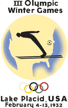 1932 Winter Olympics logo