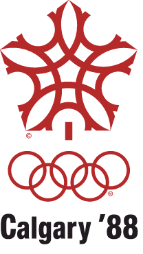1988 Winter Olympics logo